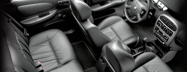 Leather Interior on 2001 Dodge Neon
